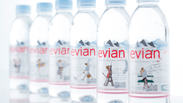evian × My Little Box 330ml